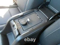 Chevrolet Chevy Colorado 2015-2021 CENTER CONSOLE VAULT SAFE 1068-KL COMBO LOCK