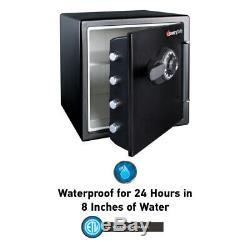 Combination Safe Fireproof Waterproof Dial Lock Documents Jewelry Files Storage
