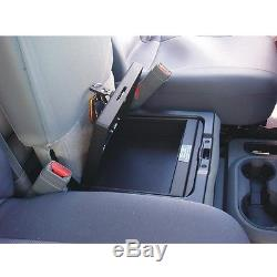 Console Vault Under Seat Gun Safe With 3-Digit Combo Lock for 06-17 Dodge Ram