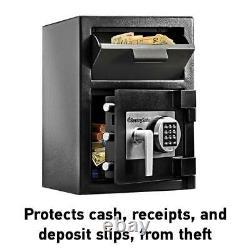 Depository Security Safe Digital Keypad Lock Deposit Cash Drop Bank Box Sentry