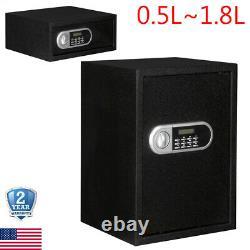 Digital Electronic Safe Box Keypad Lock Security Home Office Hotel Gun Jewelry