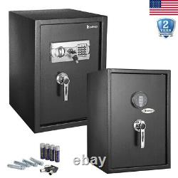 Digital Electronic Safe Box Large Security Home Office Keypad Cash Jewelry Lock