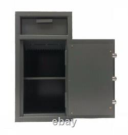 Drop Depository Cash Safe Box Vault with dial combination lock