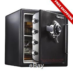 Durable Security Safe Fireproof Waterproof Heavy Duty Lock Box Home Office Money