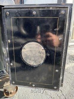 Early 1900s Meilink Safe WITH WORKING COMBINATION LOCK Gun Floor Safe On Wheels
