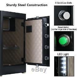 Electroni Digital Safe Combination Cash Box Lock Safety Deposit Small Drawer Gun