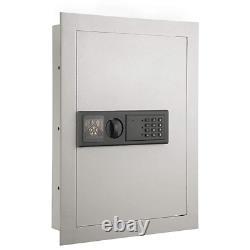 Electronic Digital Safe Box Fireproof Key Lock Hidden Cash Jewelry Security Flat