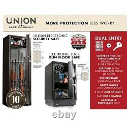 Electronic Lock Gun Floor Safe For House Home Office Protect Valuable Document
