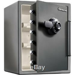 Extra Large Steel Combination Safe Black Fireproof Lock Box Home Security Bolts