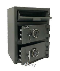 F3020EE Double Door Drop slot safe with high security electronic lock