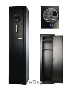 Fast Access Biometric Rifle Cabinet Safe Vault for home