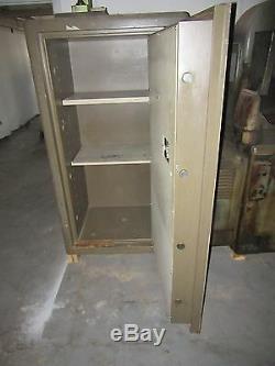 Fichet-Bauche Vault Safe TRTL Combination Lock & Key Nice Condition