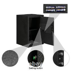 Fingerprint Biometric Digital Electronic Safe Box Keypad Lock Security Home Cash
