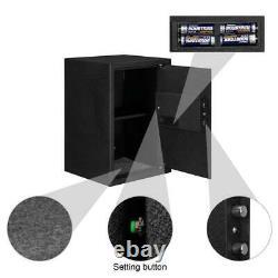 Fingerprint Biometric Electronic Safe Box Security Lock Gun Cash Jewellery