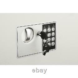 Fire Proof Electronic Wall Safe Lock Hidden Cash Jewelry Small Guns Key Security