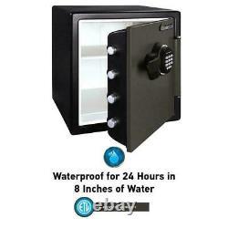 Fire Resistant Safe Box Digital Keypad Lock Cash Document Safety Holder Storage