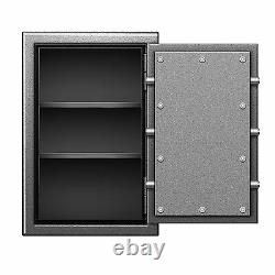 Fireproof B-rated Steel Safe/ Storage for Gun Pistol with Brass Dial Lock 30x20x20