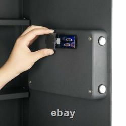 Fireproof Electronic Hidden Lock Wall Safe Cash Jewelry Superior Home Security