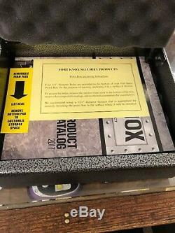 Fort Knox Original Pistol Box Handgun Safe Steel Conceal Weapon Strong Storage