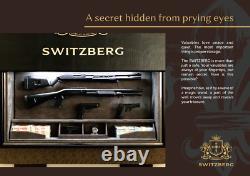 Fully Automated Hidden Gun Safe, Holds up to 5 rifles, or 50 handguns SWITZBERG