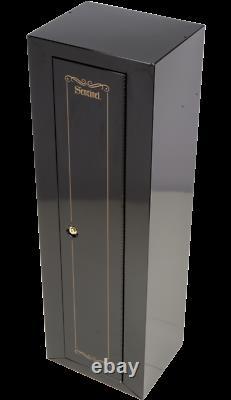 GUN SAFE CABINET 10 Rifles Security Storage Locker Shelf Rack Shotgun Pistol NEW