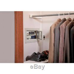 GUN SAFE Hidden inside Wall For Gun Pistol Vault Money Valuable Storage Cabinet