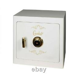 Gardall JS1718 Boltable Jewelry Drawer Safe, Combo Lock, White/Gold Trim