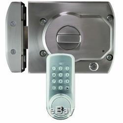 Girafus Bluetooth Smart Door Lock Secure UNLOCK with App, Key, Passcode or NFC