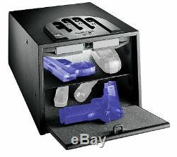 GunVault Bio Vault Biometric Pistol Safe with Fingerprint Recognition, 10 GVB2000