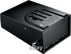GunVault Bio Vault Biometric Pistol Safe with Fingerprint Recognition, GVB1000