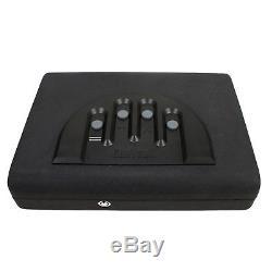 GunVault Biometric Fingerprint Handgun Safe Pistol Box MicroBioVault MVB500