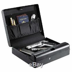 GunVault Biometric Quick Access Safe MicroVault MVB1000 Gun Pistol NEW