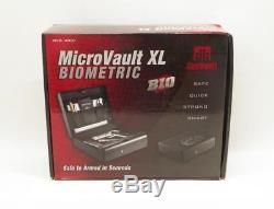 GunVault MicroVault XL Biometric Hand Gun Safe Vault MVB 1000 BIO Fingerprint