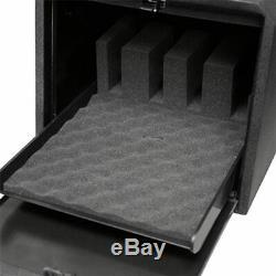GunVault Multi-Vault Handgun Safe, 4 Pcs, Black, GV2050-19 Gun Safe