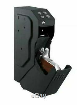 GunVault SV500 SpeedVault Series Quick Access Digital Keypad Handgun Safe, Black