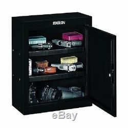 Gun Cabinet Pistol Ammo Vault Handgun Storage Safe Stack On Gunvault Steel Safes