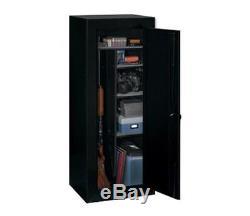 Gun Cabinet Safe Convertible Steel Security Guns Storage Vault Rifles Firearms
