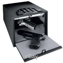 Gun Pistol Safe Home Security 9mm Gunvault Double Shelf Multi Vault Standard New
