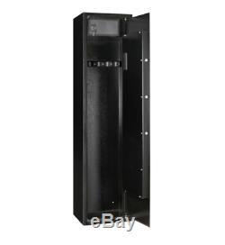 Gun Rifle Safe Storage Closet Steel Cabinet Electronic Lock Organizer Heavy Duty