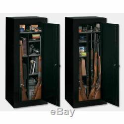Gun Safe Cabinet 10 Rifles Security Storage Locker Shelf Rack Pistol Shotgun New