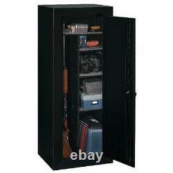 Gun Safe Cabinet 18 Rifles Storage Locker Shelf Rack Firearm Shotgun Pistol Lock