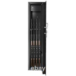 Gun Safe Cabinet Firearm 9 Rifles Security Storage Locker Shelf Shotgun Pistol