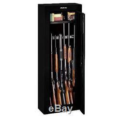 Gun Safe Cabinet Firearm Storage Box Rifle Security Lock Case Shotgun Pistol