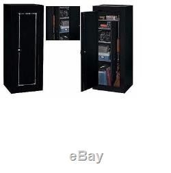 Gun Safe Cabinet Rifle Case Box Storage Large Firearm Steel Metal Security Home