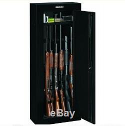Gun Safe Security Cabinet 8Gun Storage Steel Safe Secure Heavy Large Closet New