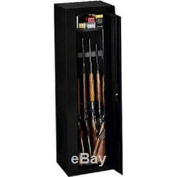 Gun Safe Sentinel 10 Gun Security Cabinet Storage Vault Black