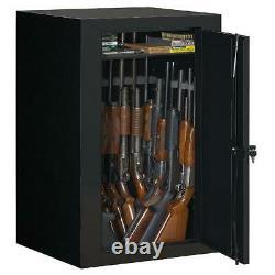 Gun Safe Stack-On 22-Gun Steel Security Cabinet Black