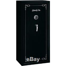 Gun Safe Stack On 22 Guns w Electronic Combination Lock Security Cabinet Rifle