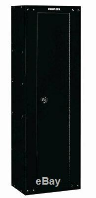 Gun Safe Steel Ready to Assemble Security Cabinet Rifles Shotguns Home Storage