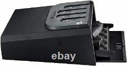 Gunvault Instant Access Back-lit Pad Minivault No Eyes Gun Safe Black